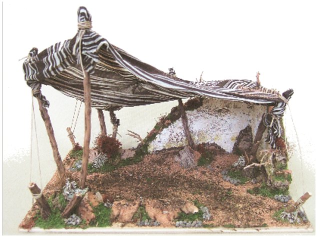 Tenda con muretto case tende case tende accessori for Arredamento pastore
