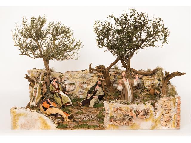 orto degli ulivi scene pasquali statue e scene pasquali
