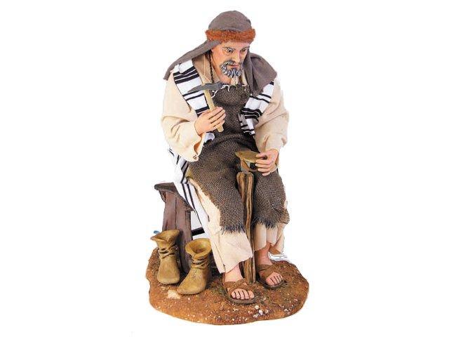 Ciabattino artistici vestiti fissi 30 cm statue in for Arredamento pastore