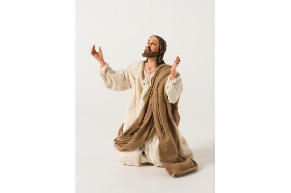 Gesù in Preghiera - Artistici Vestiti - 30 cm