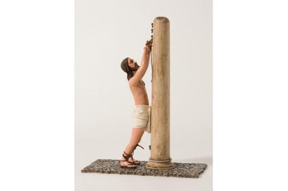 Gesù con Colonna - Artistici Vestiti - 30 cm