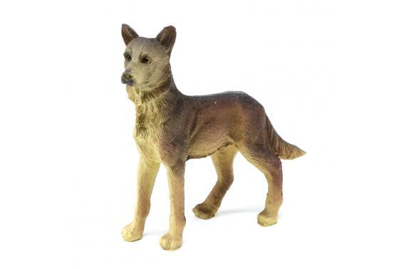 Cane lupo - Animali Presepe in Resina
