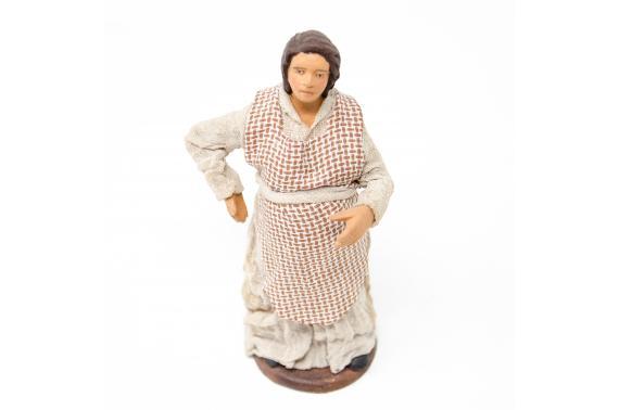 Donna incinta - Fisse Vestite - 10 cm