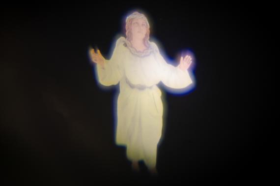 Annunciazione Angelo con Proiezione - Effetti Elettronici