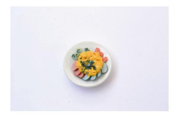 Piatto di Verdure - Accessori Cibo