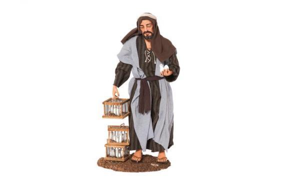 Venditore di Colombe - Artistici Vestiti Fissi - 30 cm