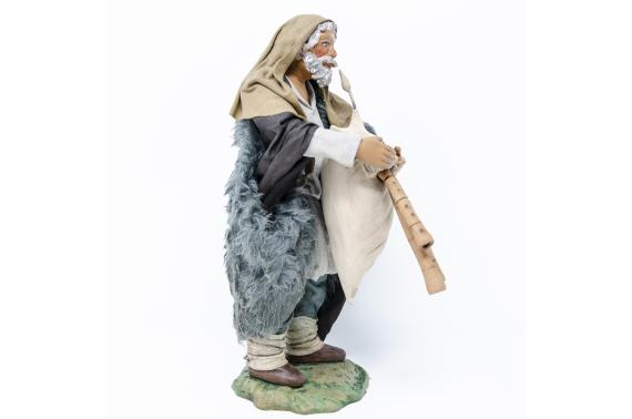 Zampognaro - Fisse Vestite - 24 cm