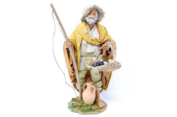 Pescatore in Piedi - Fisse Vestite - 24 cm