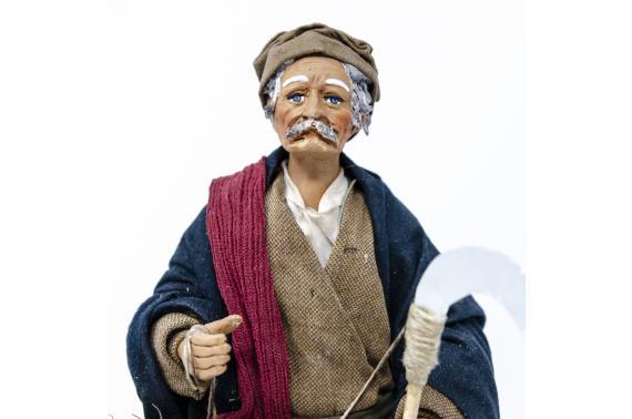 Uomo con Falce - Fisse Vestite - 24 cm