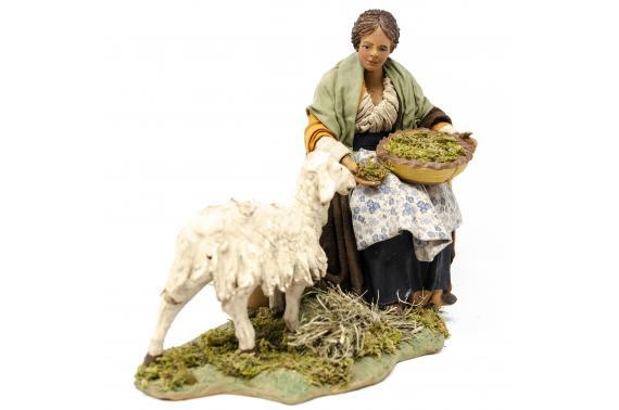 Nonna Nutre la Pecora - Fisse Vestite - 24 cm