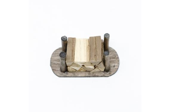 Catasta di legna tagliata - Paglia, Legna, Sughero, Juta