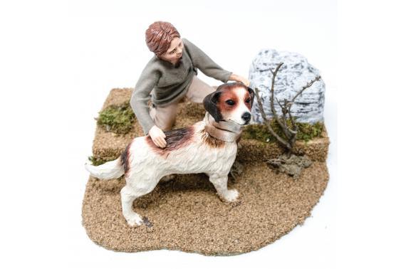 Bambino con cane - Artigianato in Movimento