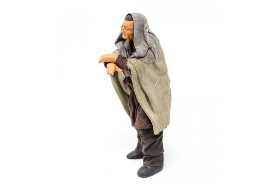 Uomo appoggiato sul bancone - Fisse Vestite - 12 cm