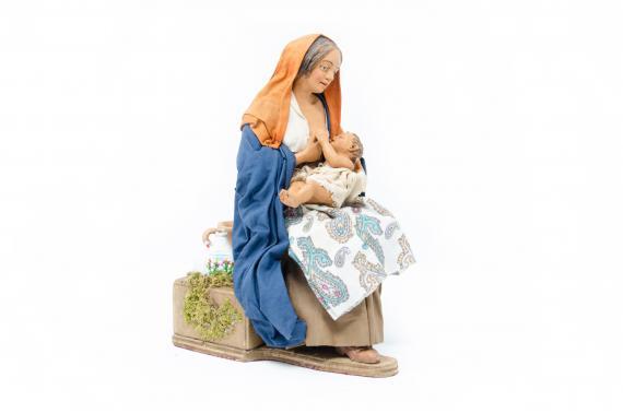Donna che allatta - Movimento - 24 cm