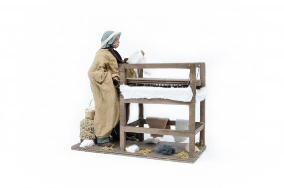 Carda lana - Movimento - 24 cm