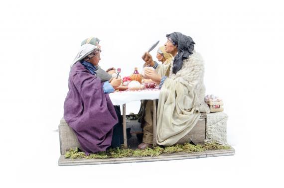 Famiglia a cena - Movimento - 24 cm
