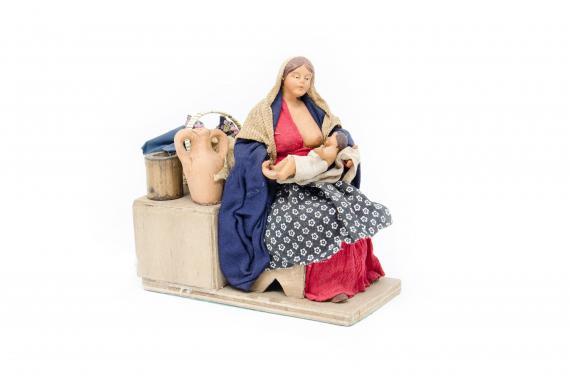 Donna che Allatta - Movimento - 15 cm