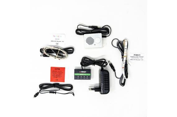 Kit Illuminazione Fissa 4 Uscite - Centraline + Kit LED