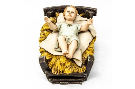 Culla con Bambino - Artistici Fissi - 30 cm