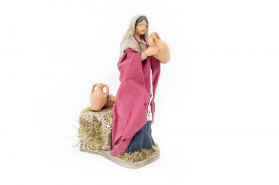 Donna con Anfora - Movimento - 15 cm