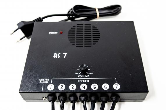 Riproduttore di suoni 7 messaggi - RS7 - Effetti Audio