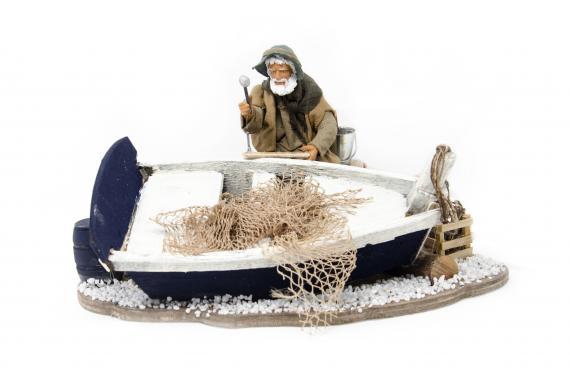 Aggiusta Barca - Movimento - 15 cm