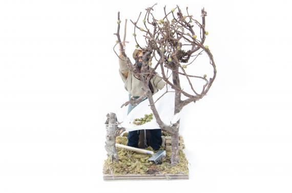 Raccoglitore di Olive - Movimento - 15 cm