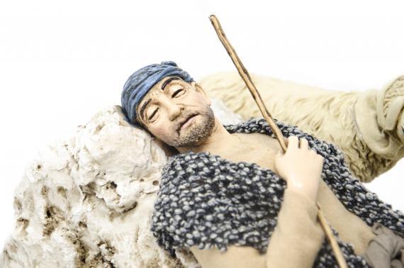 Dormiente orientale - Artistici in Movimento - 30 cm