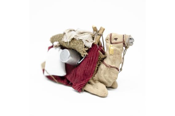 Cammello Coricato - Fisse Vestite - 10 cm
