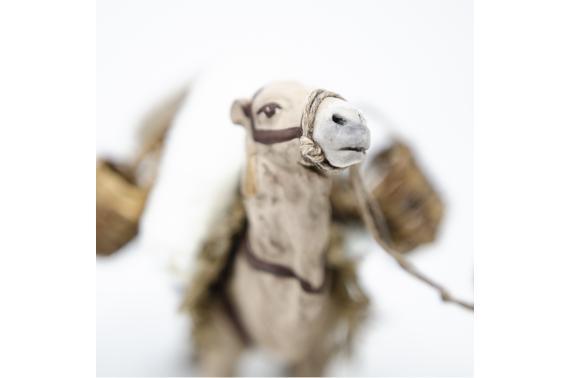 Cammello bardato con cammelliere - Fisse Vestite - 10 cm