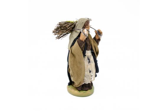 Donna con fascina - Fisse Vestite - 10 cm