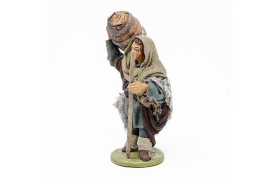 Uomo con botte - Fisse Vestite - 10 cm