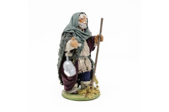 Uomo con lanterna - Fisse Vestite - 10 cm