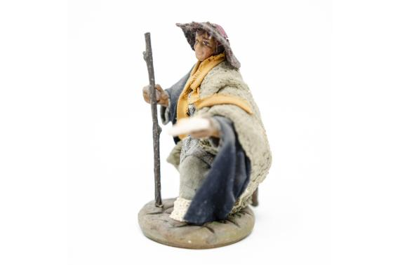 Mendicante in ginocchio - Fisse Vestite - 10 cm