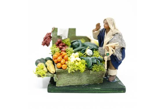 Fruttivendolo - Fisse Vestite - 10 cm