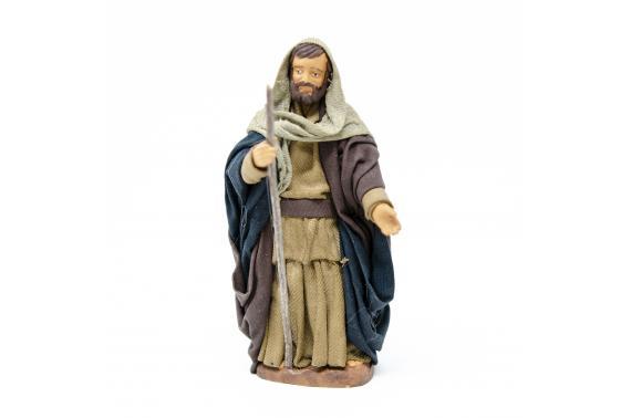 San Giuseppe - Fisse Vestite - 12 cm