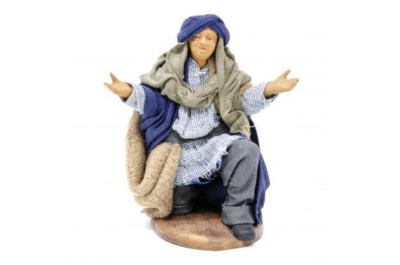 Meravigliato in Ginocchio - Fisse Vestite - 12 cm