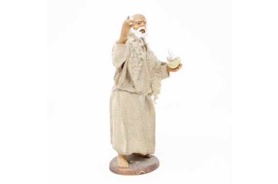 Uomo con Candela - Fisse Vestite - 12 cm