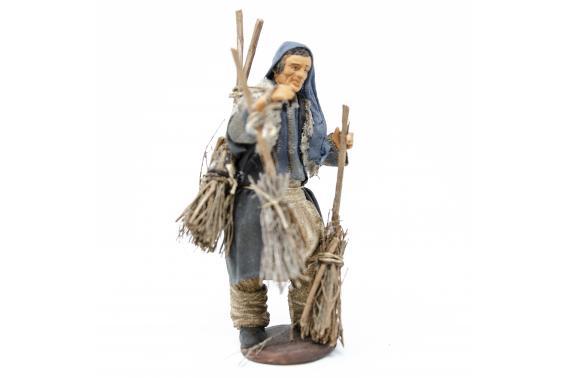 Uomo con Scope - Fisse Vestite - 12 cm