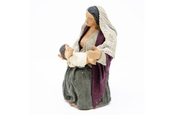 Donna che Allatta - Fisse Vestite - 12 cm
