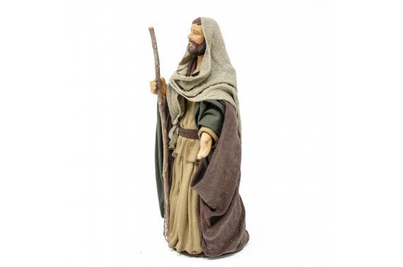 San Giuseppe - Fisse Vestite - 16 cm