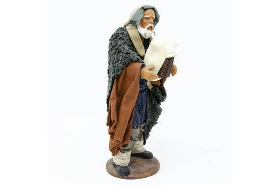 Zampognaro - Fisse Vestite - 16 cm