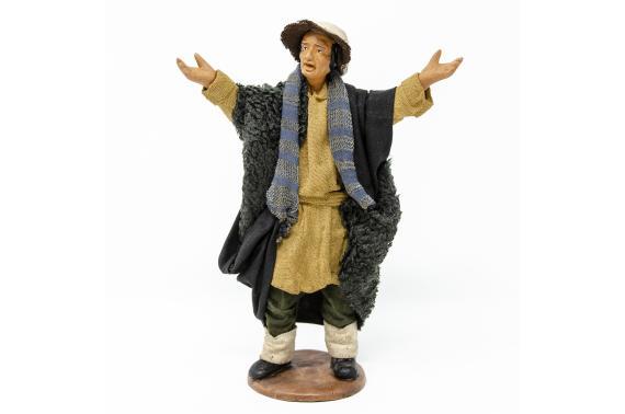Meravigliato in Piedi - Fisse Vestite - 16 cm