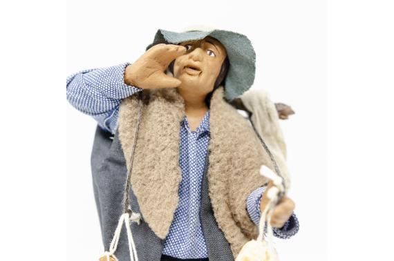 Uomo con Caciotte - Fisse Vestite - 16 cm