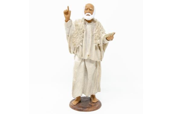 Uomo con Candela - Fisse Vestite - 16 cm