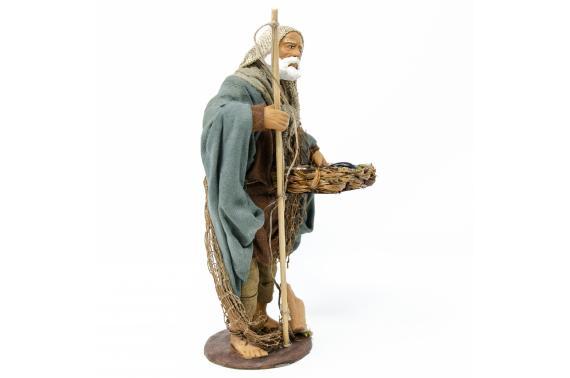 Pescatore in Piedi - Fisse Vestite - 16 cm