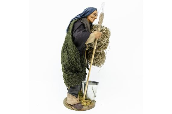 Uomo con Falce - Fisse Vestite - 16 cm