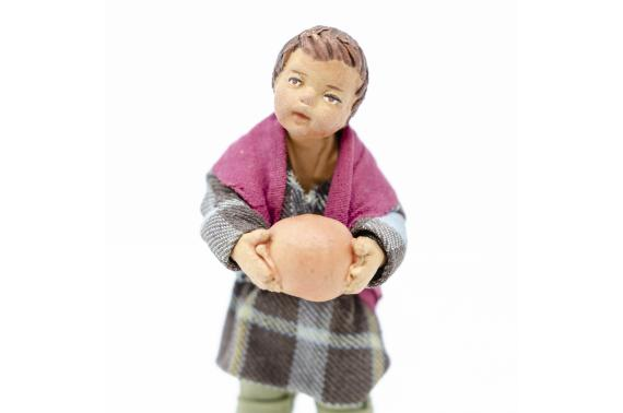Fanciullo con Palla - Fisse Vestite - 16 cm