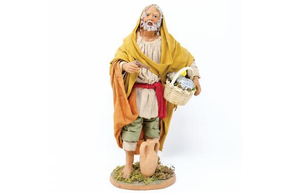 Pescatore in Piedi - Fisse Vestite - 20 cm