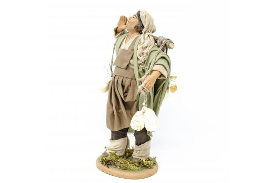 Uomo con Caciotte - Fisse Vestite - 20 cm